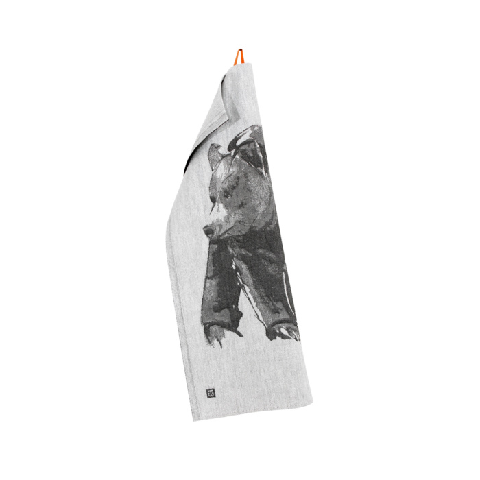 bear teatowel by teemu jarvi x lapuan kankurit
