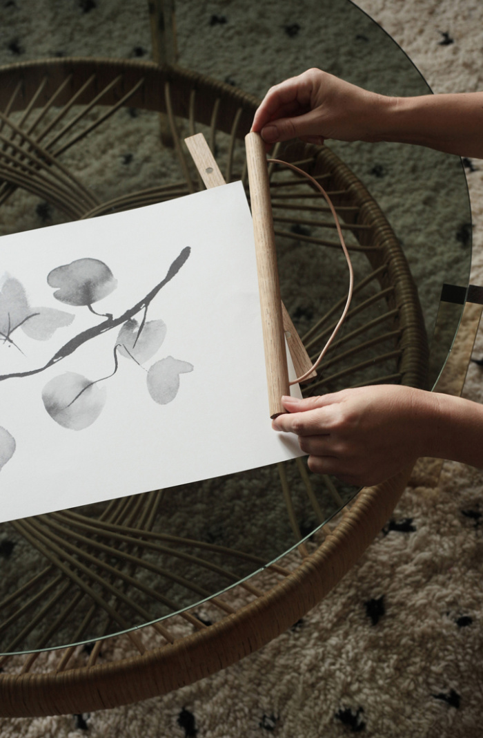 birch branch art print by teemu jarvi