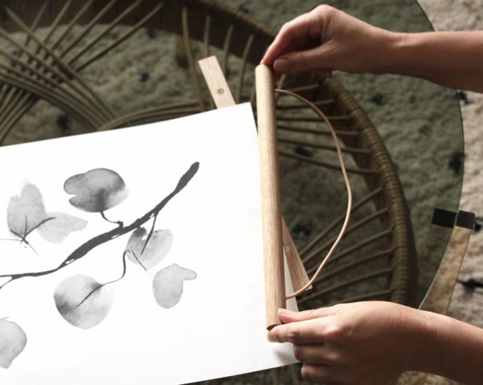 birch branch art print by teemu jarvi