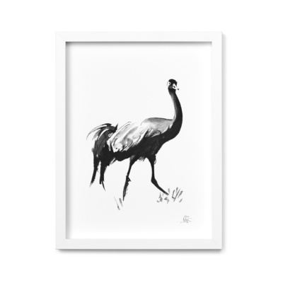 Crane fine art print