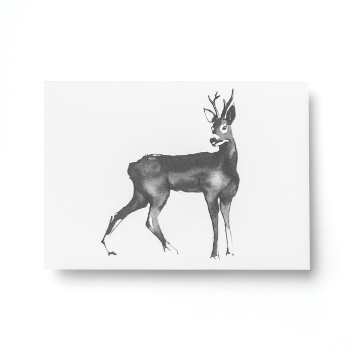 deer post card art by teemu järvi