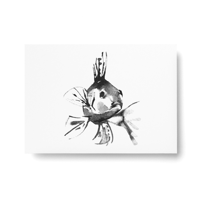 perch postcard art print by teemu jarvi