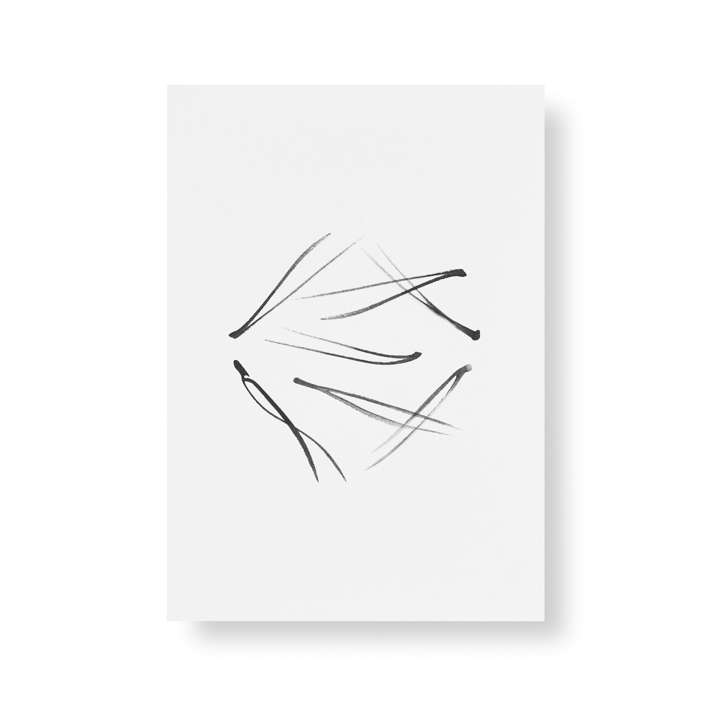 Pine needles mini poster