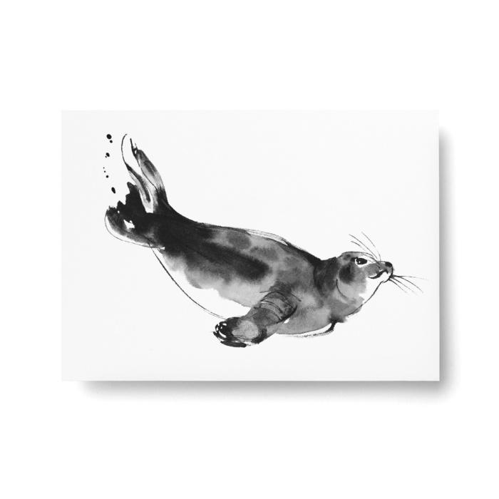 siseal art print postcard by teemu jarvi