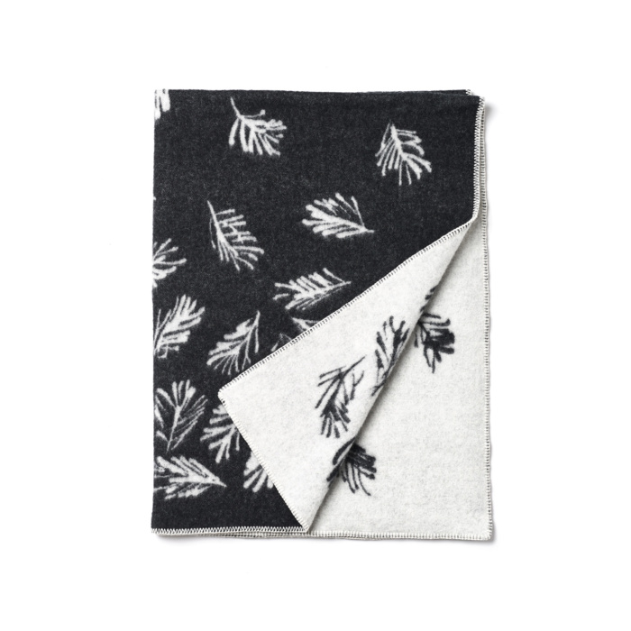Shinrin yoku wool blanket by teemu jarvi