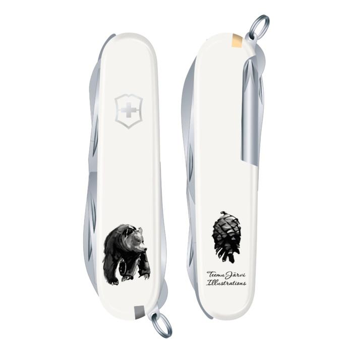 Bear Victorinox by teemu jarvi