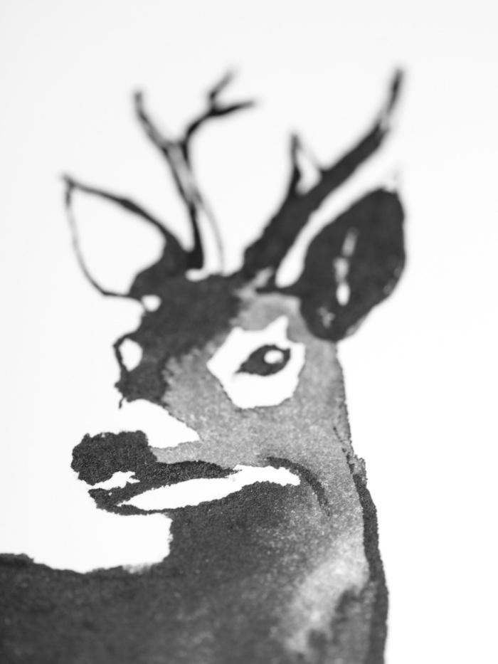 deer Art Print poster teemu jarvi