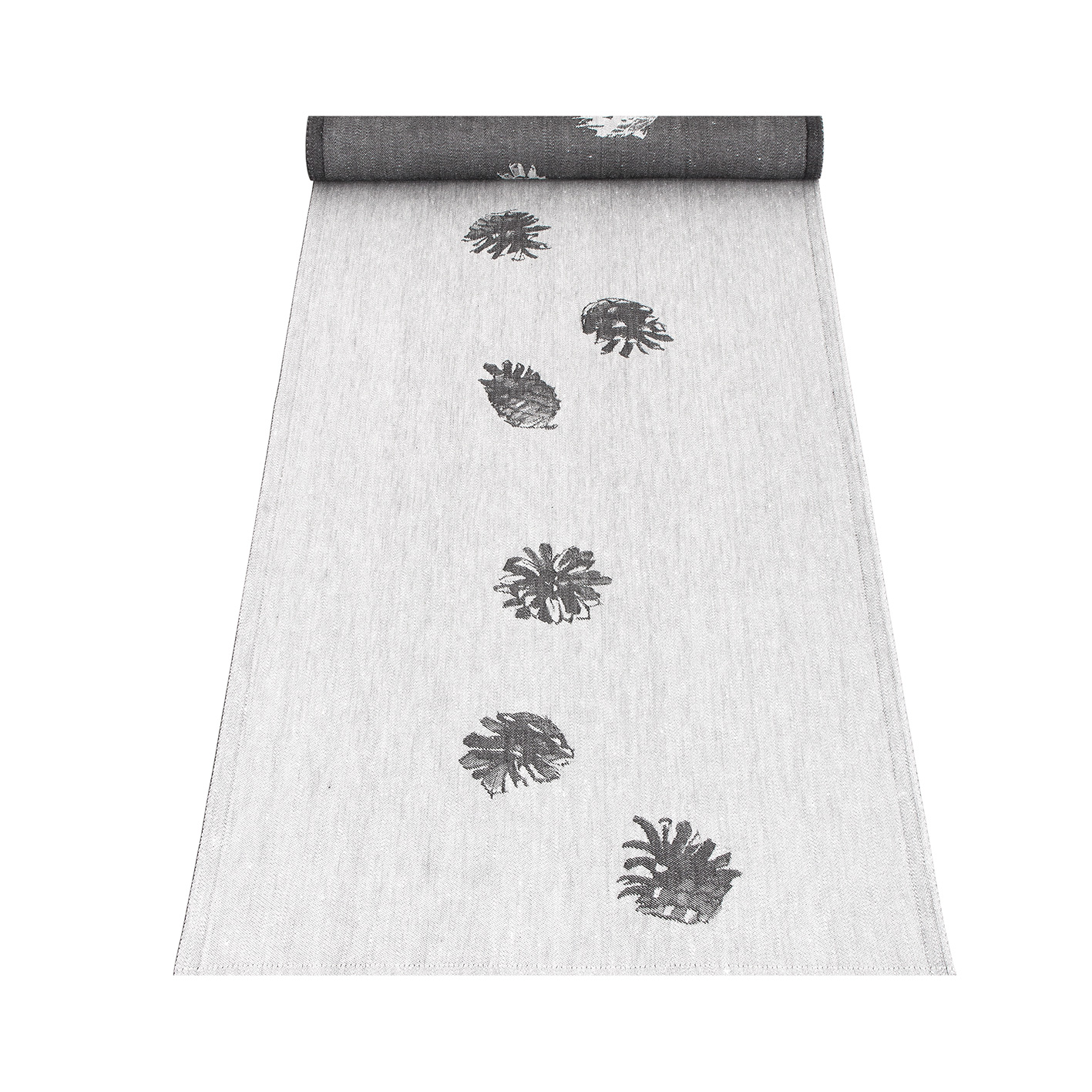 Pine cone table runner