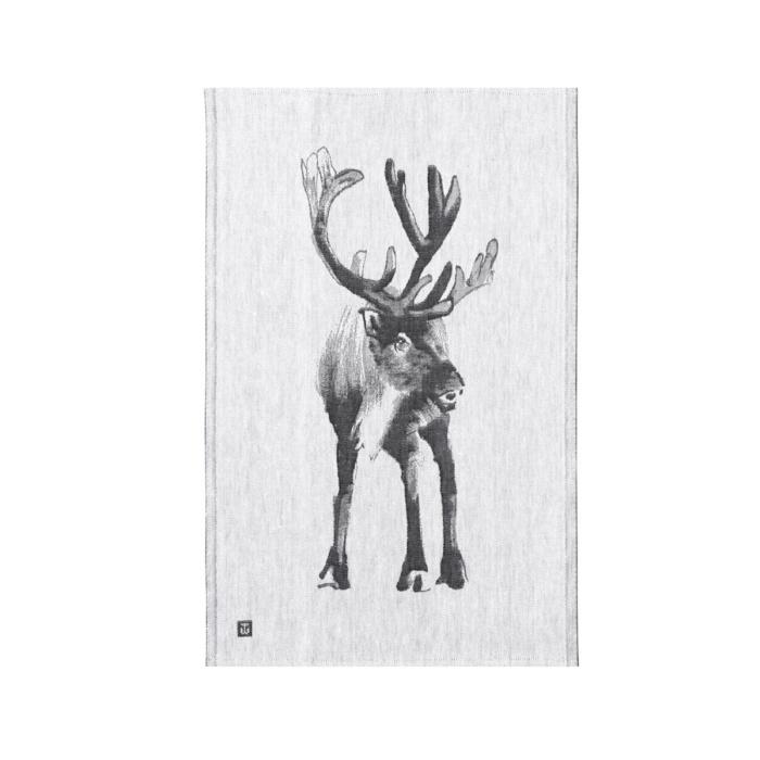 reindeer teatowel by teemu jarvi x lapuan kankurit