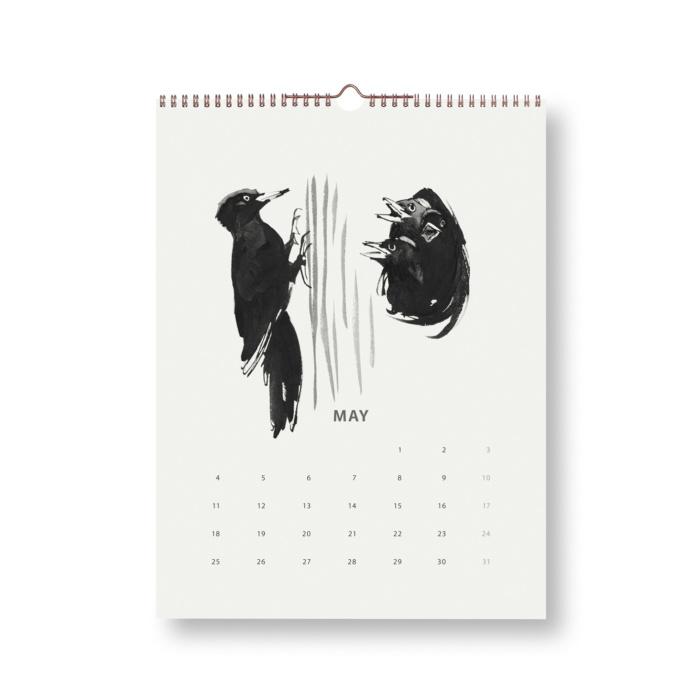 woodpecker wilderness calendar 2020 teemu järvi