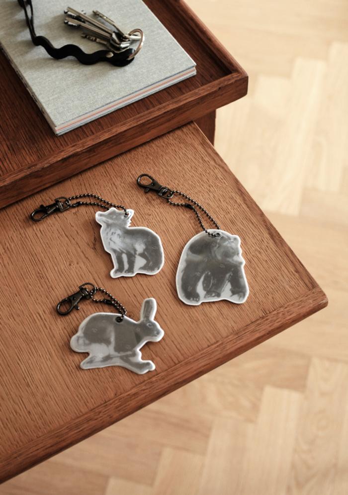 Karhu, jänis ja kettu heijastin