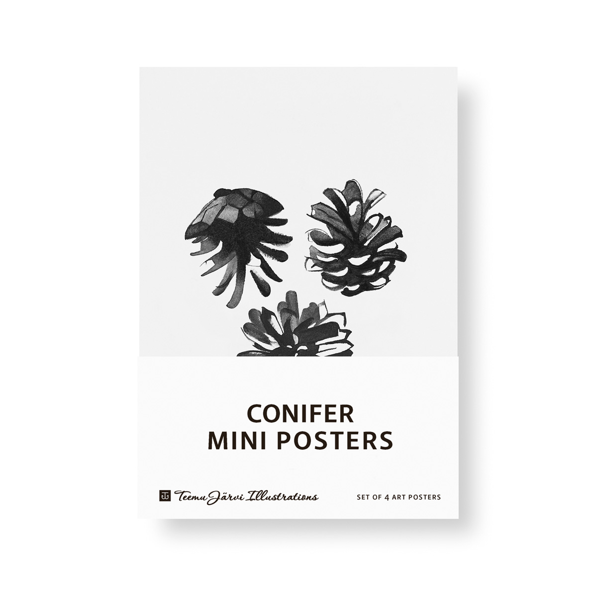Conifer mini poster set