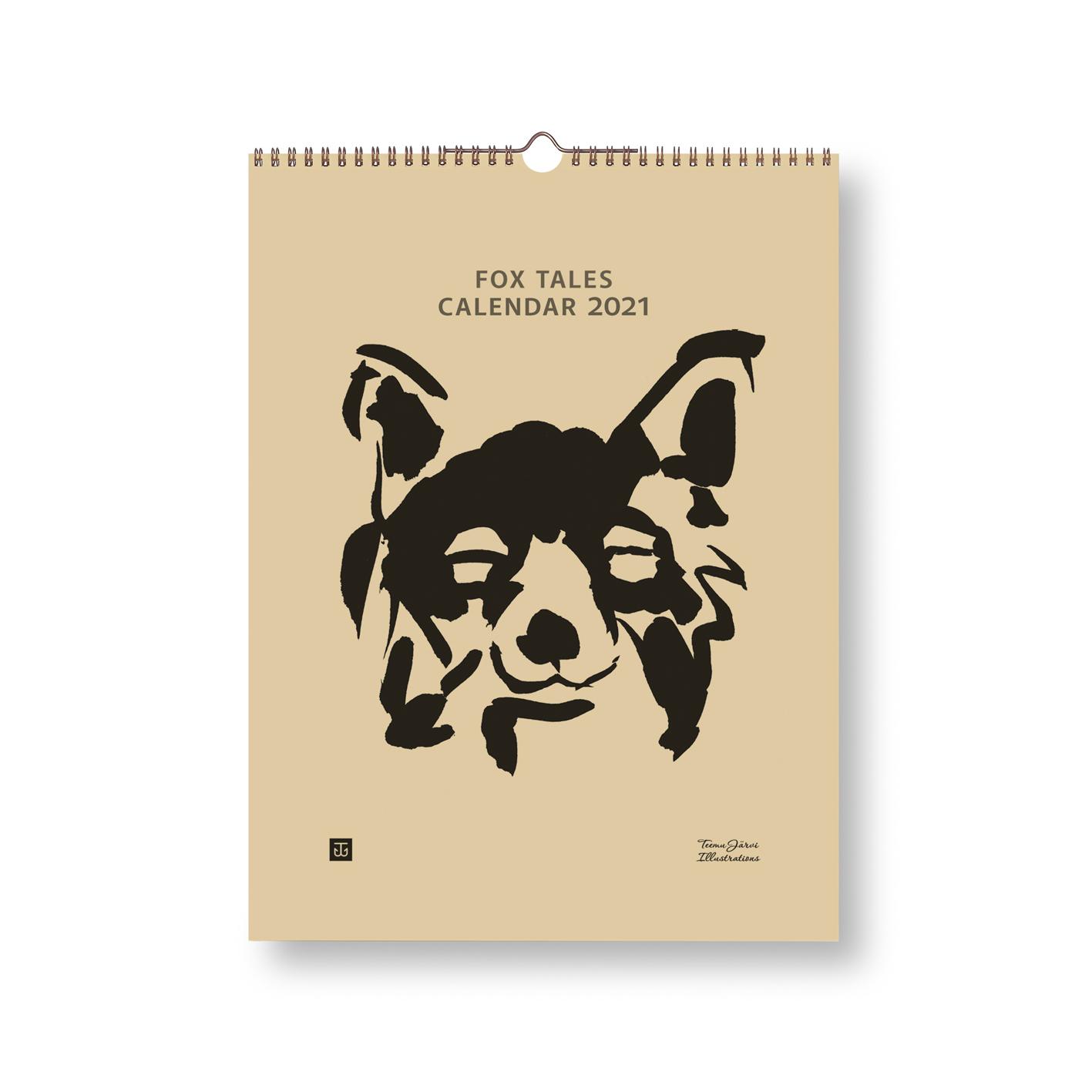 Fox Tales calendar