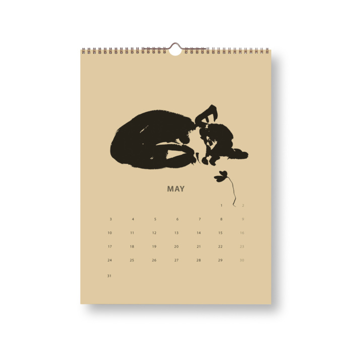 Black & Sand Fox tales calendar 2021 may