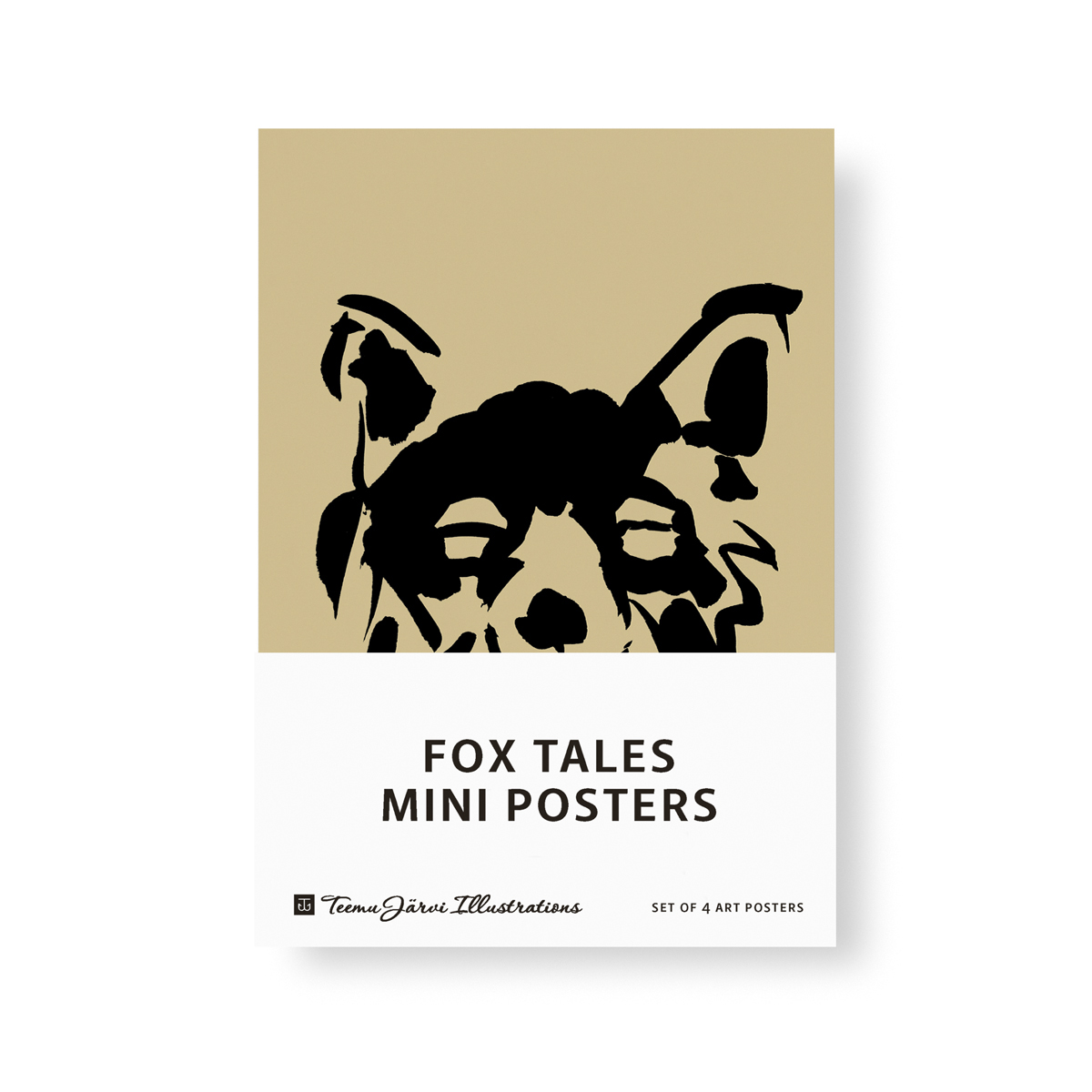 Fox Tales mini poster set