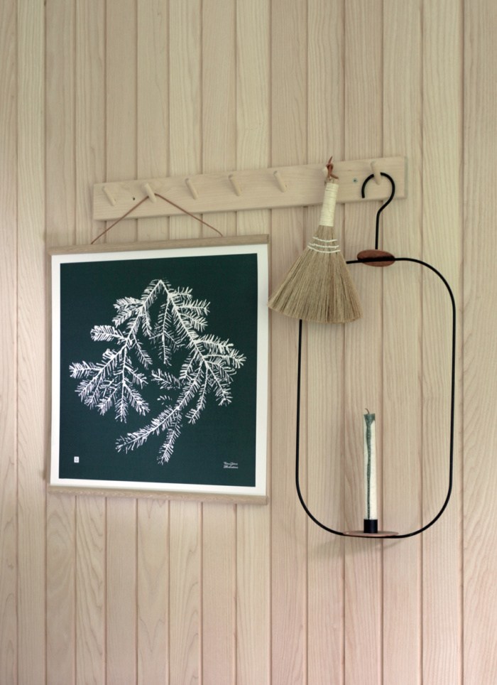 Forest Green Spruce Branch art print