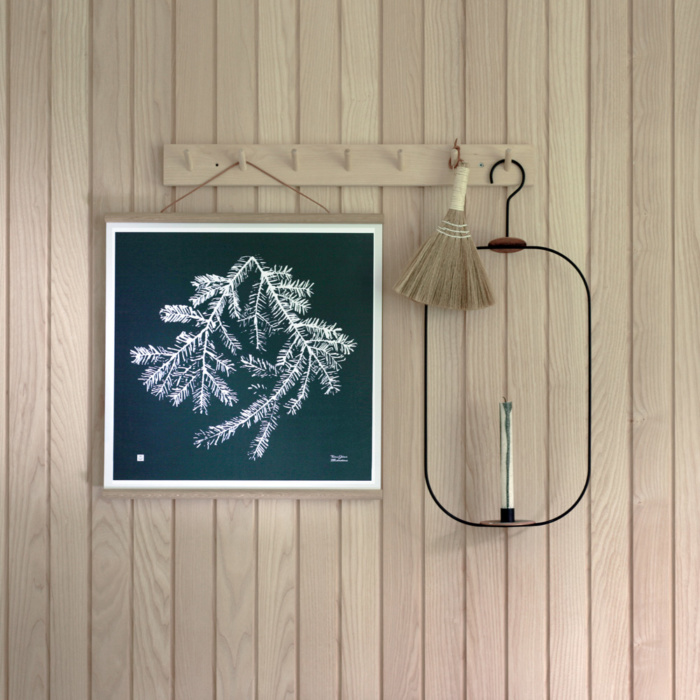 Forest Green Spruce Branch Wall Art