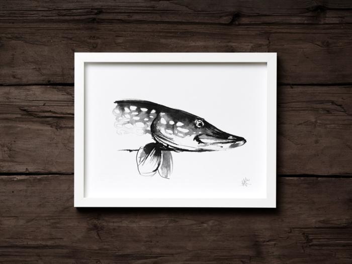 Pike framed wall art