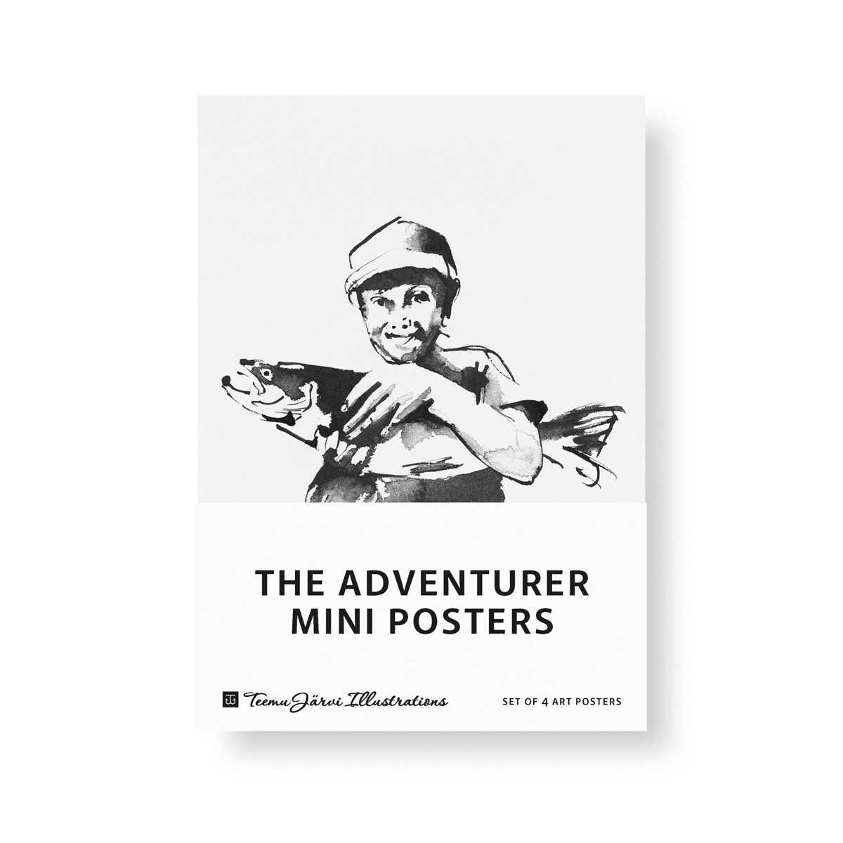 Adventurer mini poster set